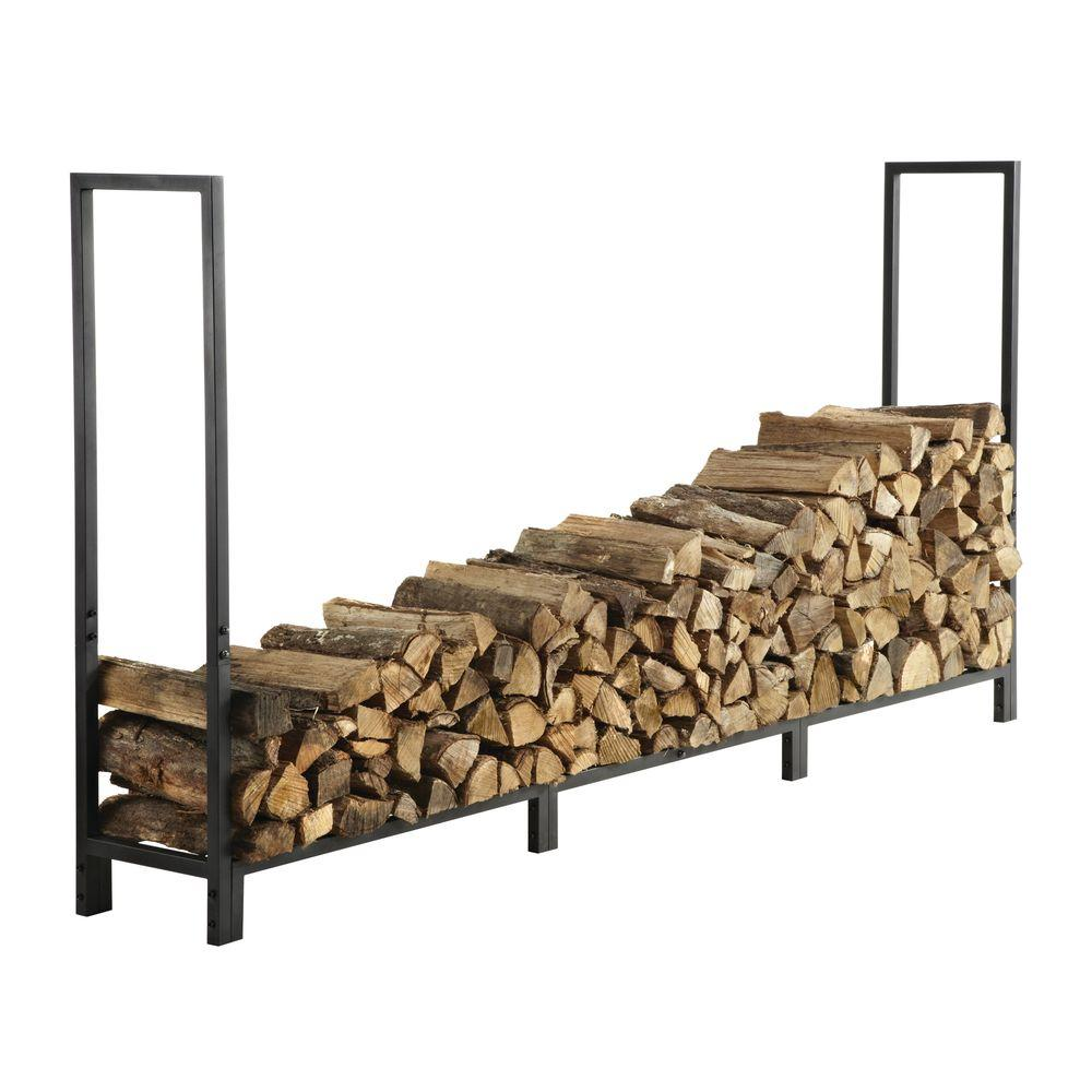 Pleasant Hearth 8 ft. Firewood Rack -DISCONTINUED