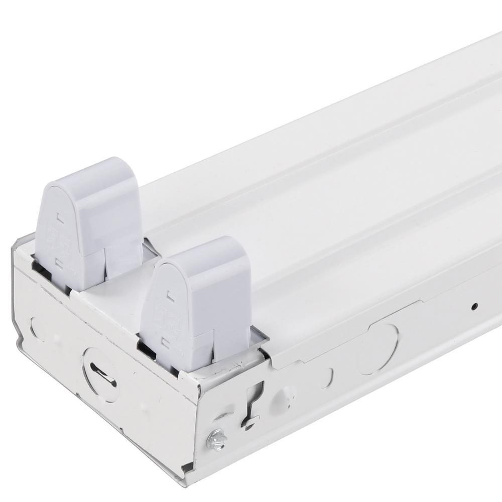 Metalux 2-Light 8 Ft. White Fluorescent Strip Light With 2