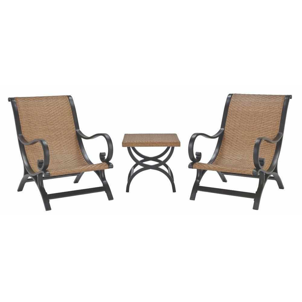 Home Decorators Collection Plantation 3-Piece All-Weather Wicker Patio
