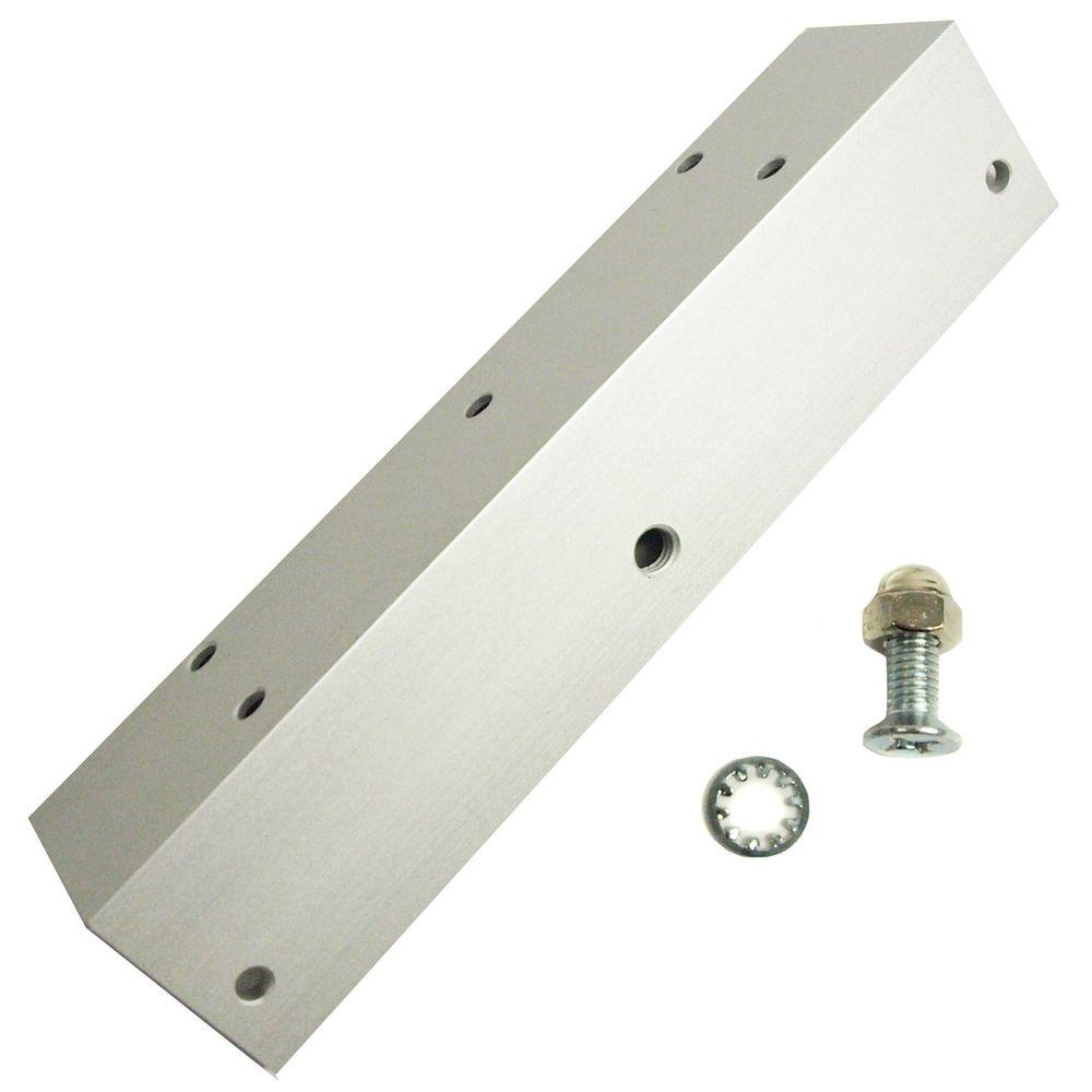 null L1 Bracket for 600 lb. Magnetic Security Door Lock-DISCONTINUED
