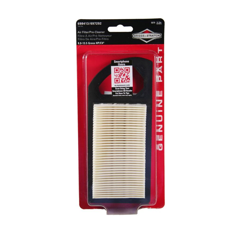 Air Filter for 8 - 15 HP Power Built, I/C OHV