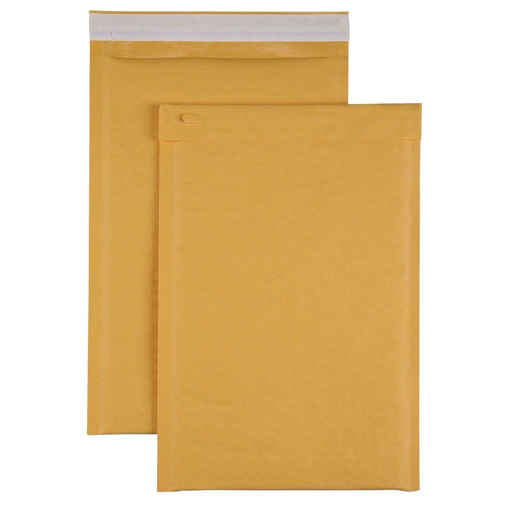 Bubble Cushioned Mailers Size 3 Envelope, Kraft (100-Carton)