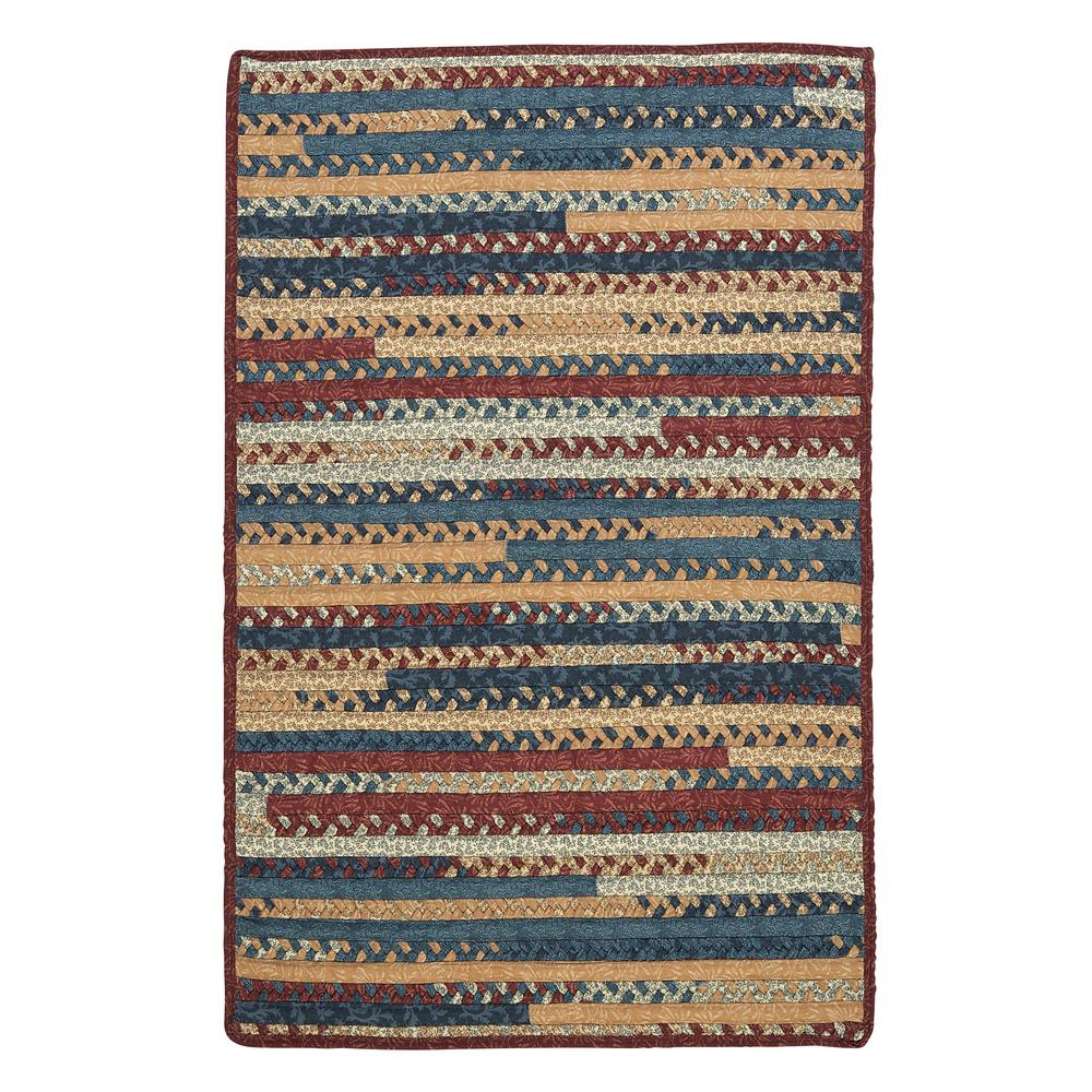 Owen Summer 4 ft. x 6 ft. Rectangle Braided Area Rug