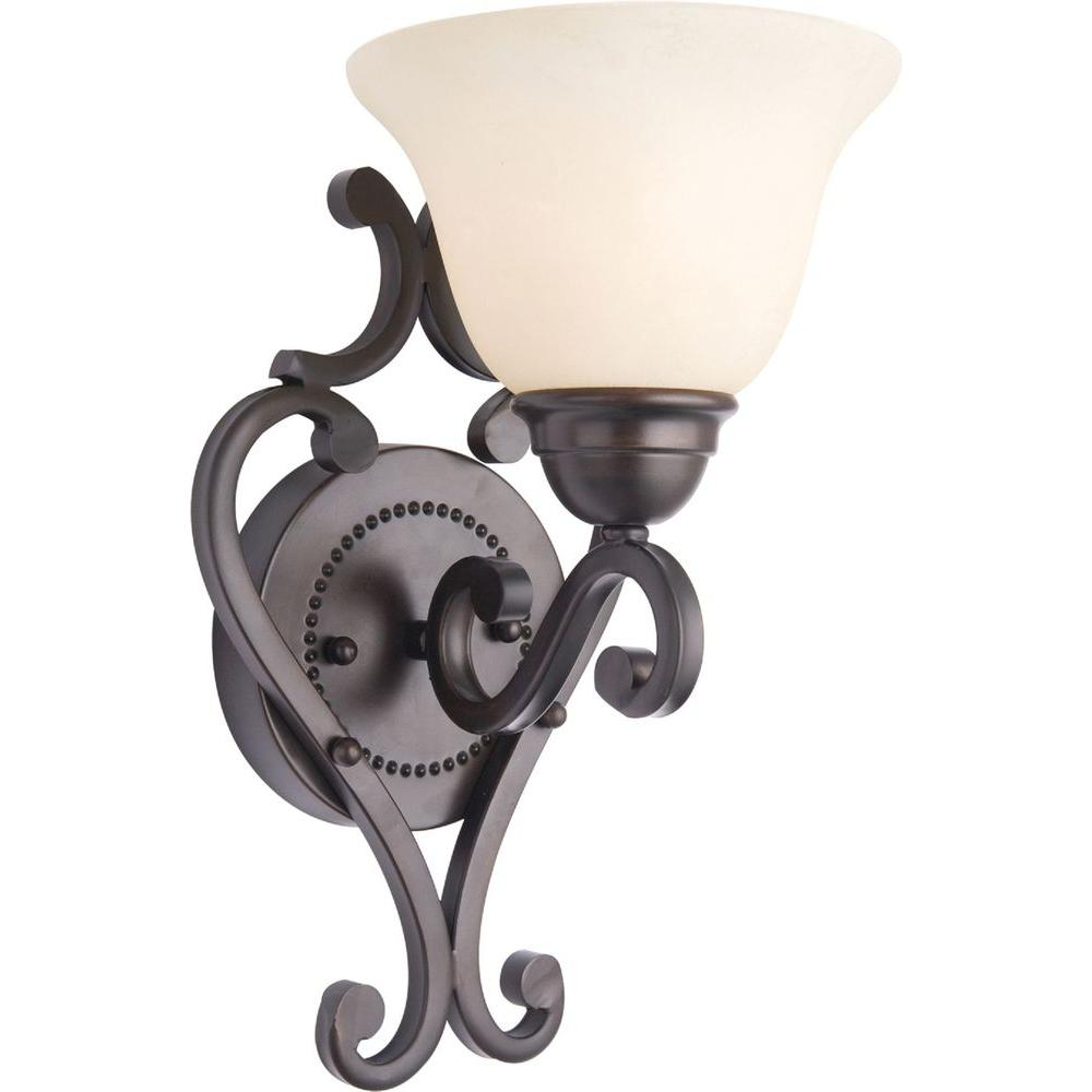 Maxim Lighting Manor 1-Light Oil Rubbed Bronze Wall Sconce