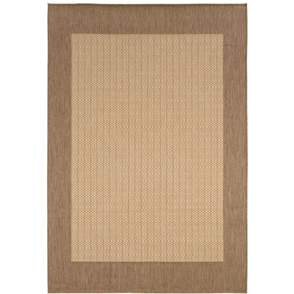 Home Decorators Collection Checkered Field Natural 8 ft. 6 in. x