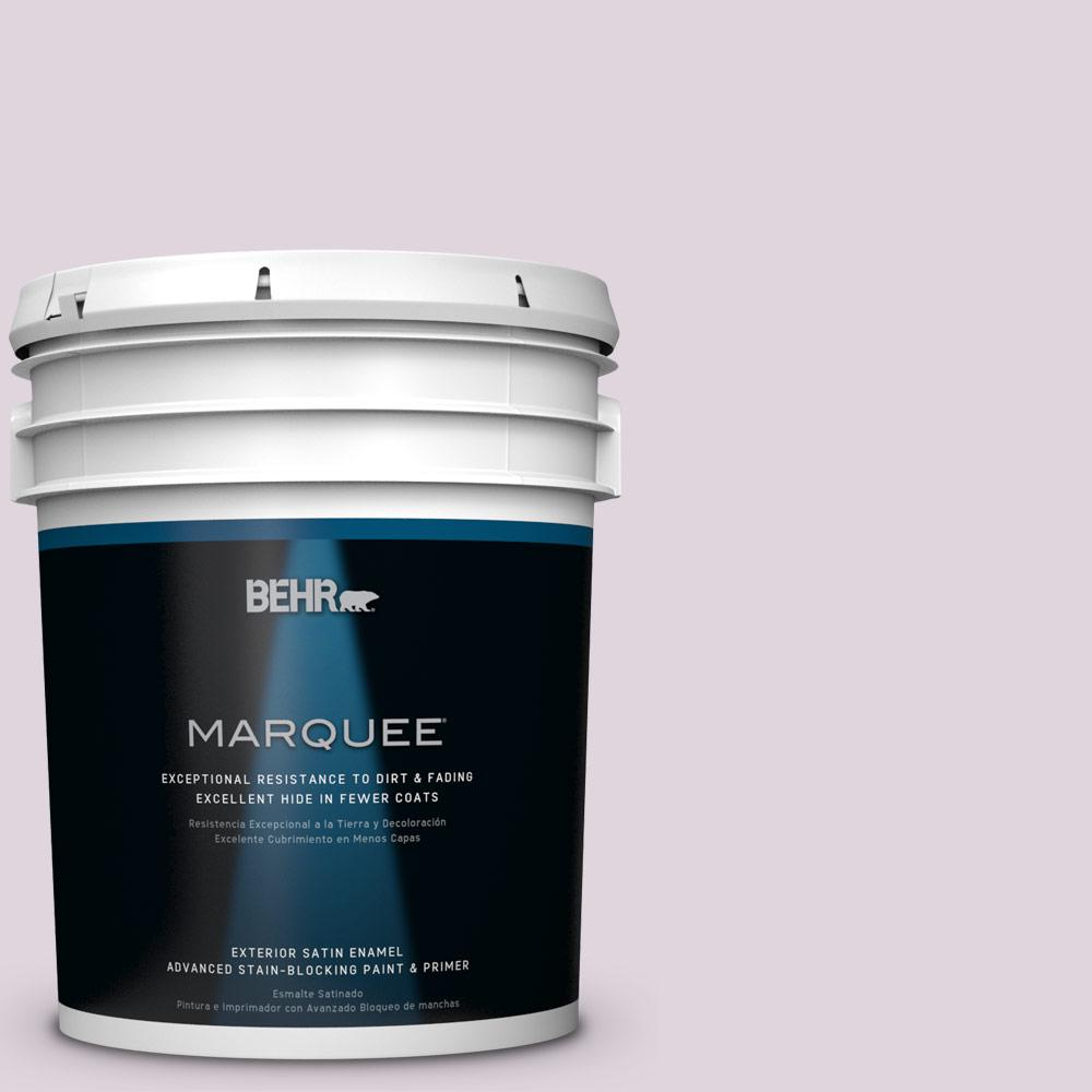 BEHR MARQUEE 5-gal. #PPU16-7 Mystic Fairy Satin Enamel Exterior Paint
