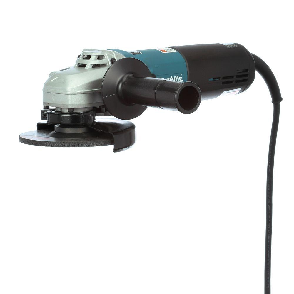 12 Amp 5 in. SJS High-Power Angle Grinder