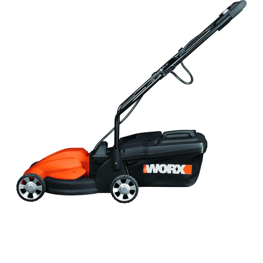 Worx 14 in. Cordless Electric Lawn Mower