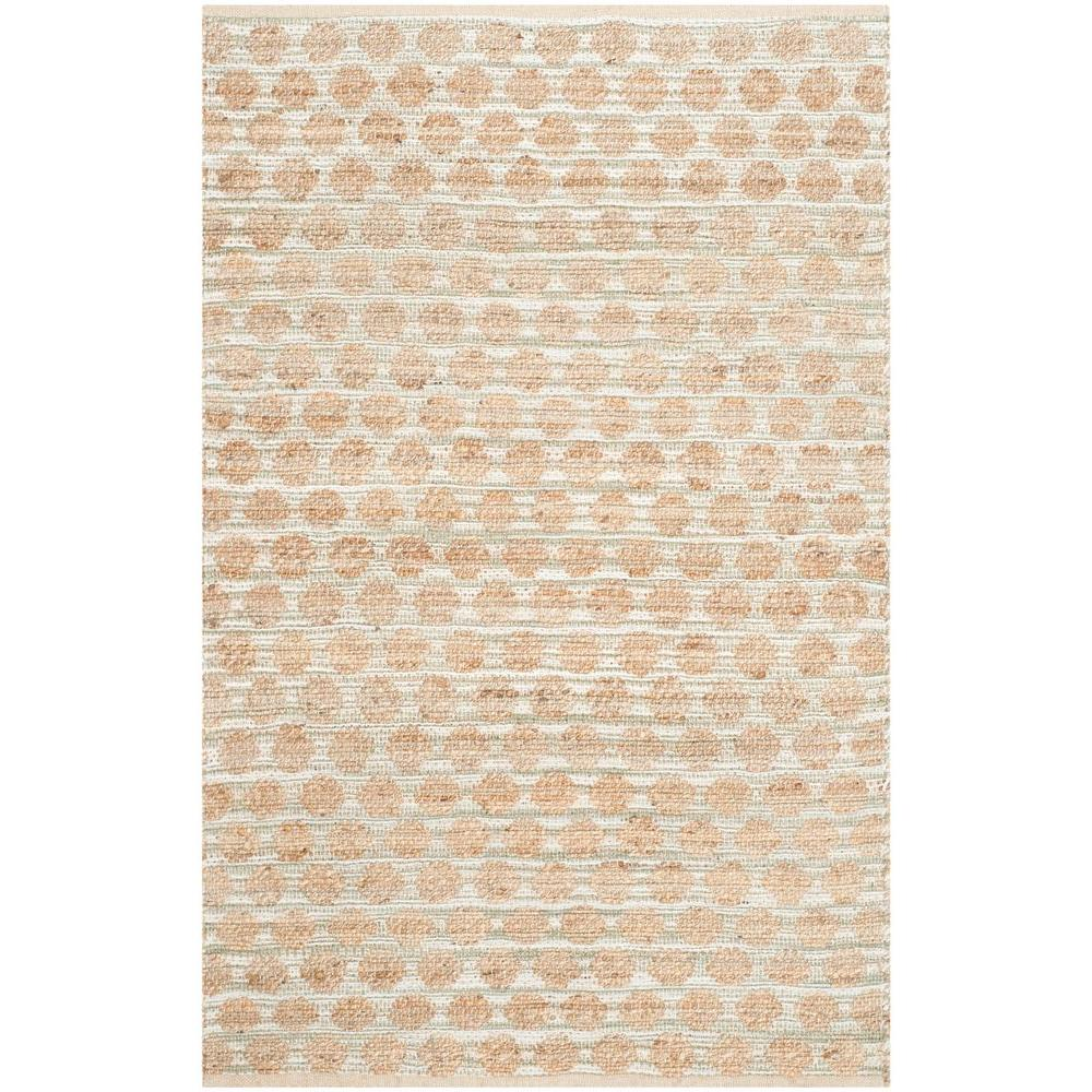 Cape Cod Grey/Natural 4 ft. x 6 ft. Area Rug