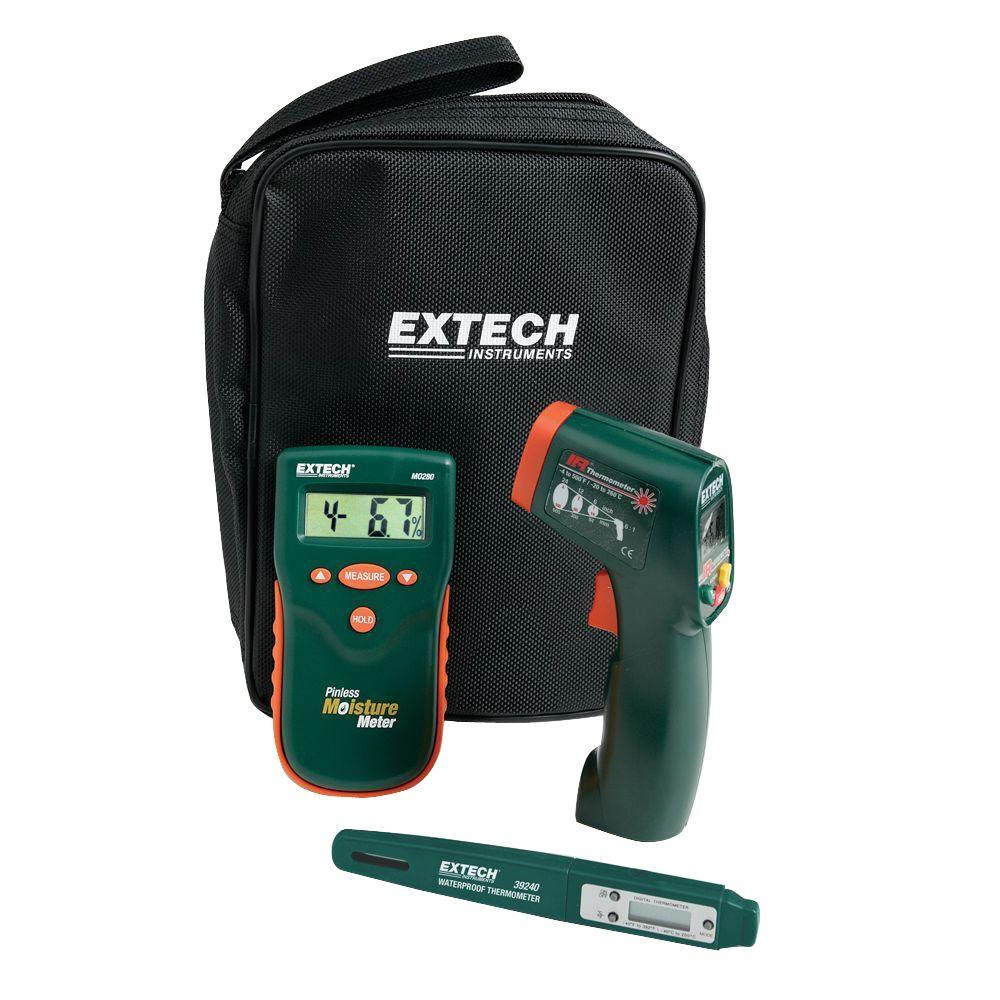 Extech Instruments Home Inspector Kit with ET10-MO280-KH2 - The Home Depot