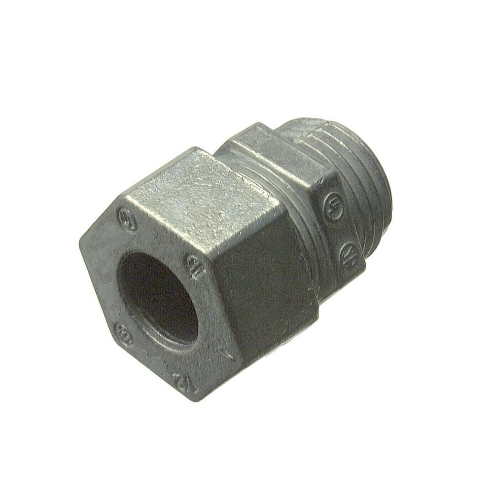 1/2 in. 0.260 - 0.375 Strain-Relief Cord Connectors (2-Pack)