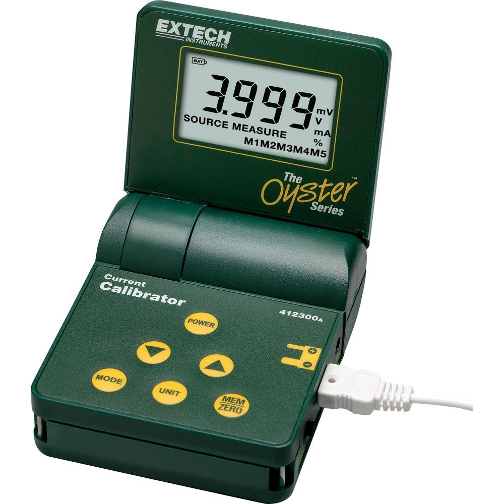 Extech Instruments Oyster Current Calibrator with Big Display