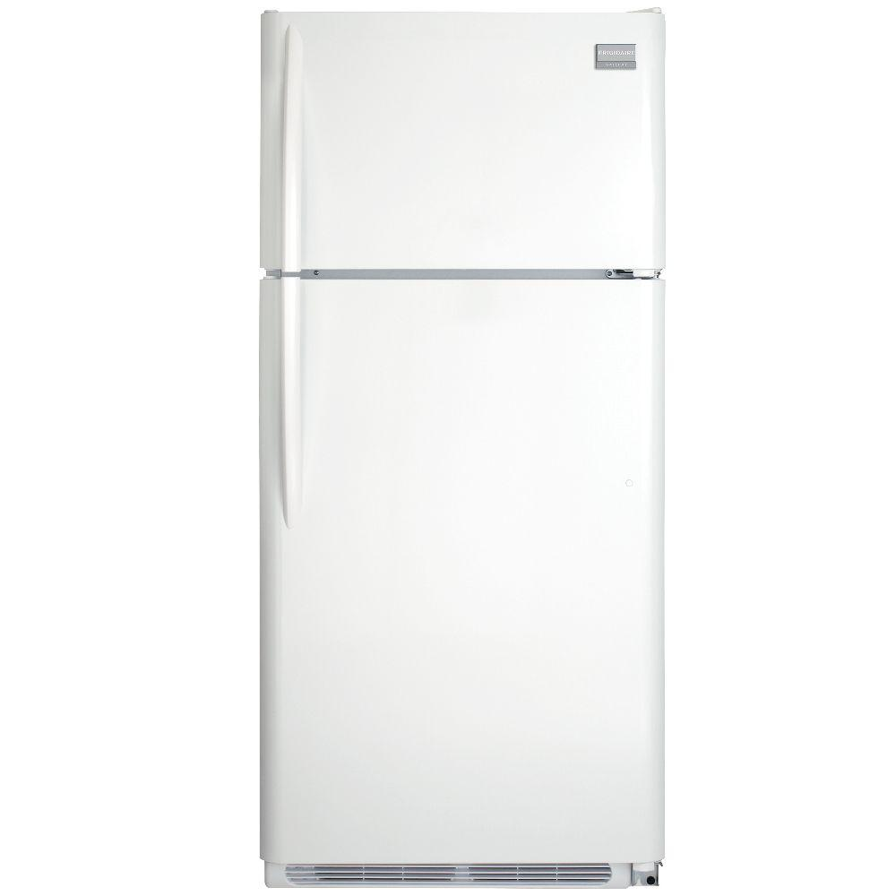 Frigidaire Gallery 18 cu. ft. Top Freezer Refrigerator in Pearl White