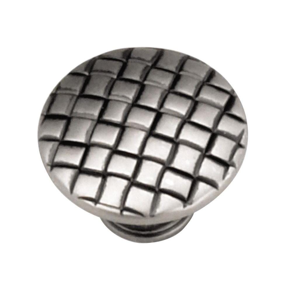 1-1/4 in. Antique Pewter Cabinet Knob