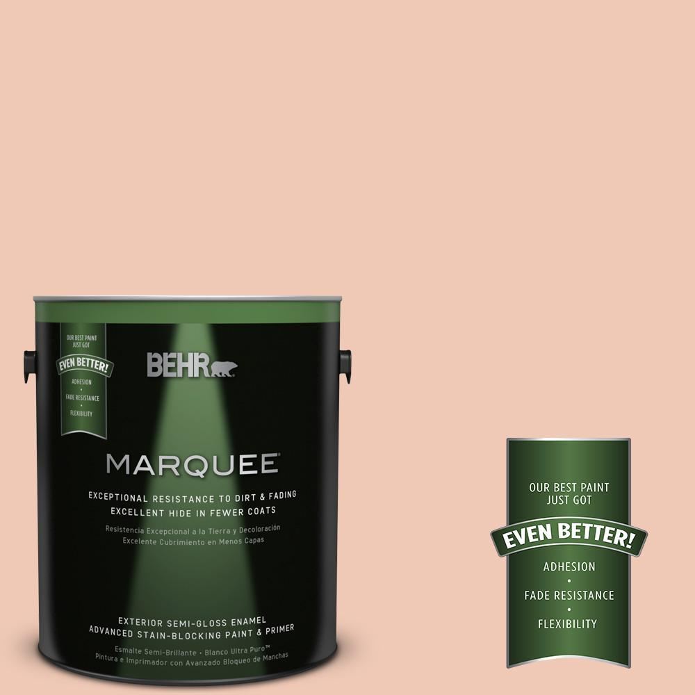 BEHR MARQUEE 1-gal. #M200-2 Fruit Salad Semi-Gloss Enamel Exterior Paint