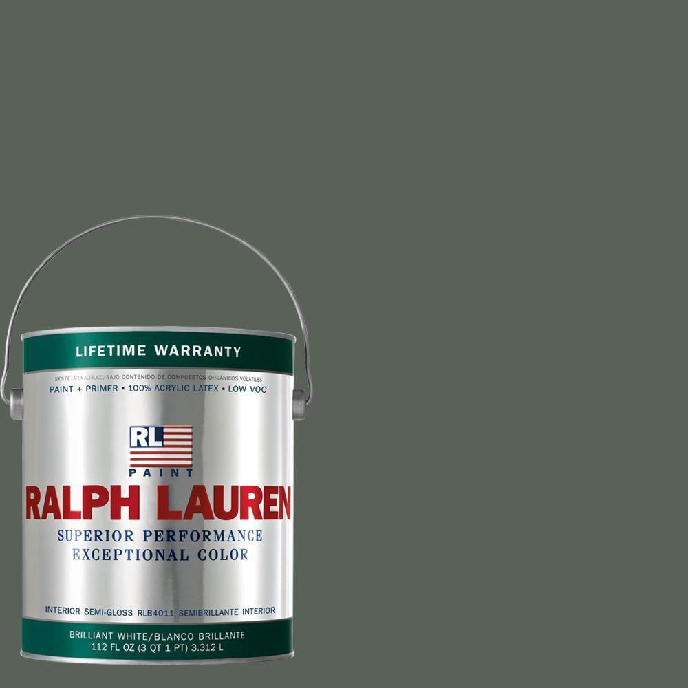 Ralph Lauren 1-gal. Brogue Semi-Gloss Interior Paint-RL1882S - The Home Depot