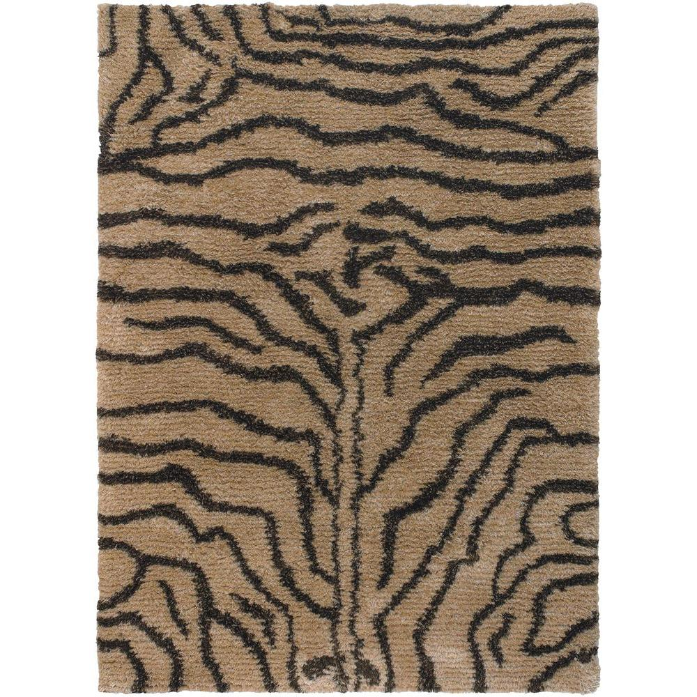 Amazon Tan/Brown 9 ft. x 13 ft. Indoor Area Rug