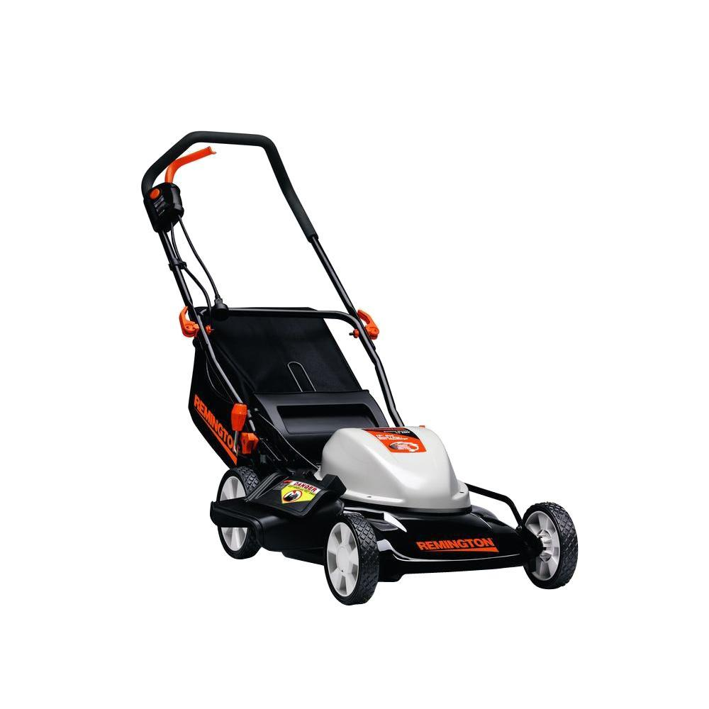 19 in. 12 Amp 3-in-1 Walk-Behind Corded Electric Mower