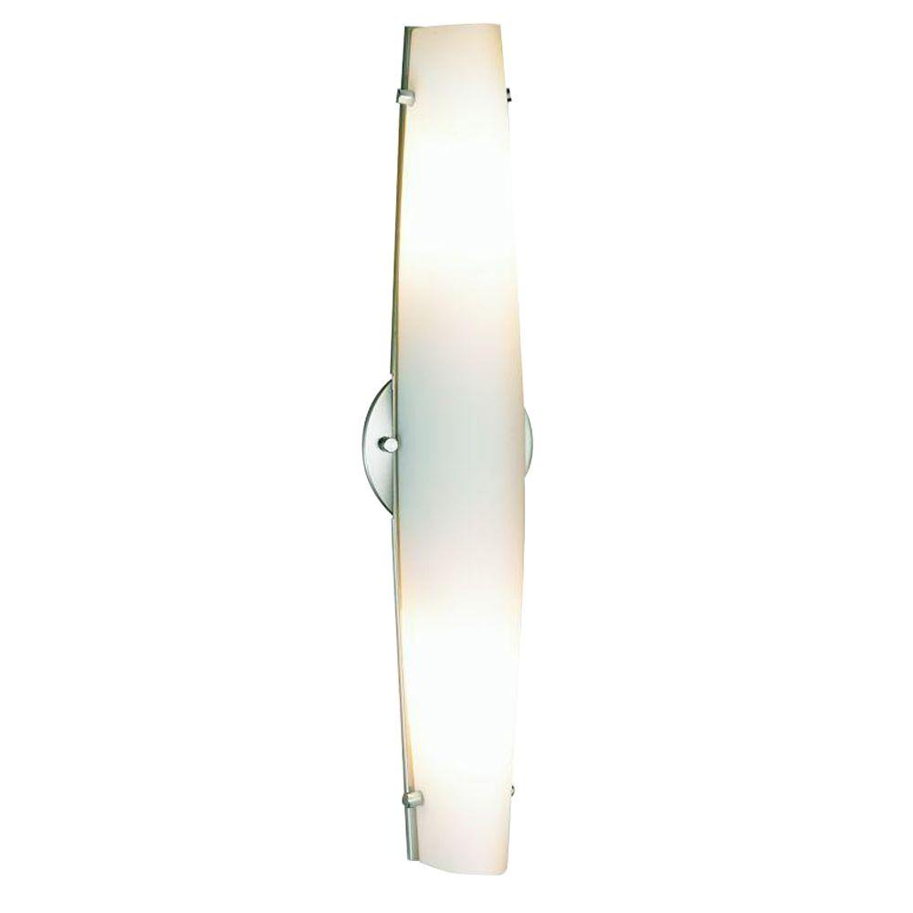 Eurofase Absolve Collection 2-Light Brushed Nickel Wall Sconce