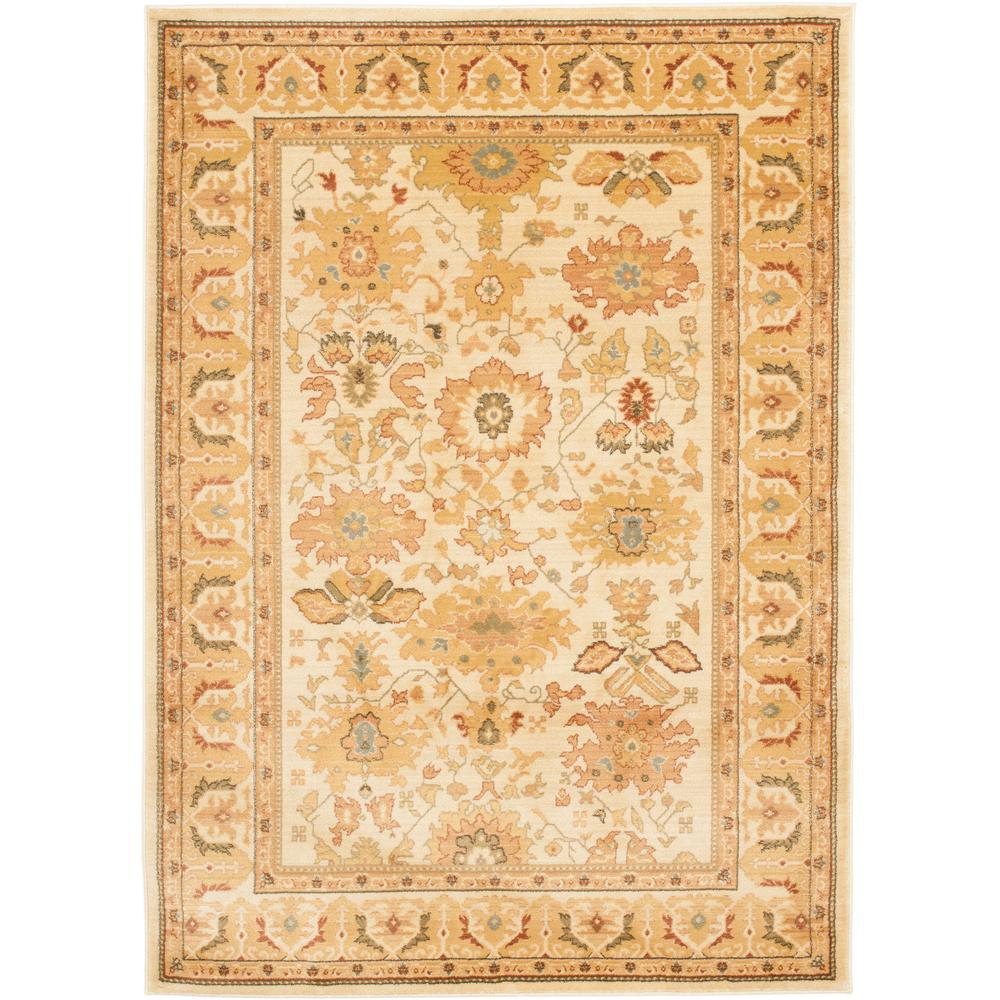 Safavieh austin red creme 8 ft x 11 ft area rug aus1600 for Cream and red rugs