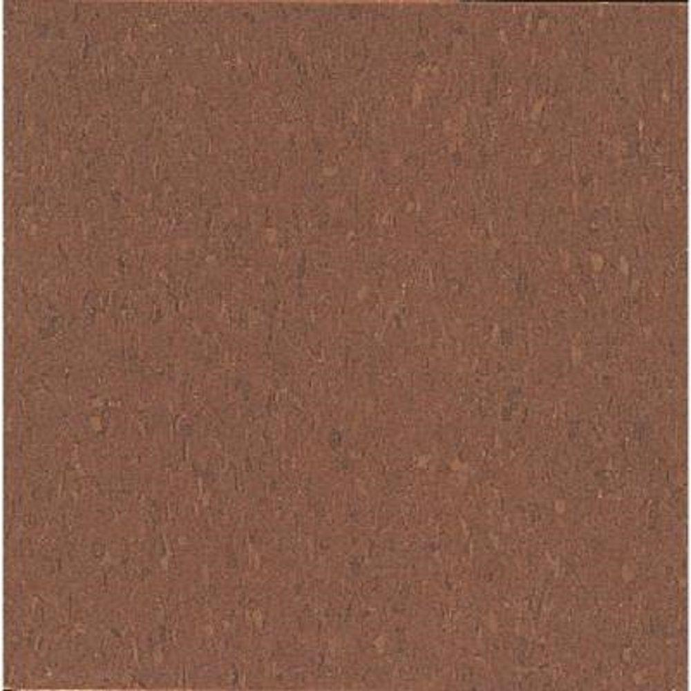 Imperial Texture VCT Cinnamon Brown Standard Excelon Commercial Vinyl Tile - 6 in. x 6 in. Take Home Sample