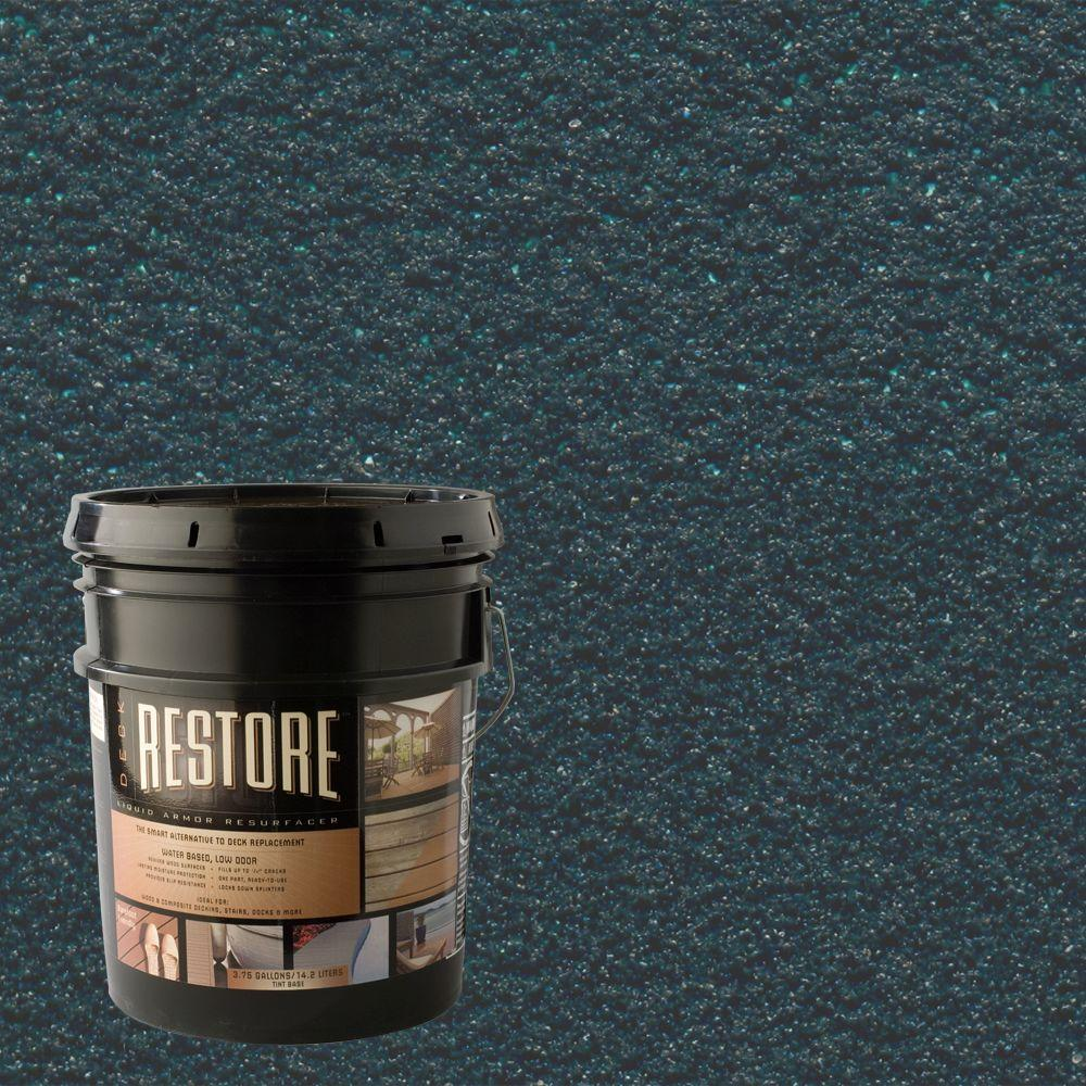 Restore Deck Liquid Armor Resurfacer 4 Gal. Water Based Tile Green Exterior Coating-DISCONTINUED