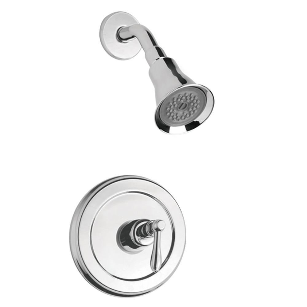 Montbeliard Single-Handle 1-Spray Shower Faucet in Chrome