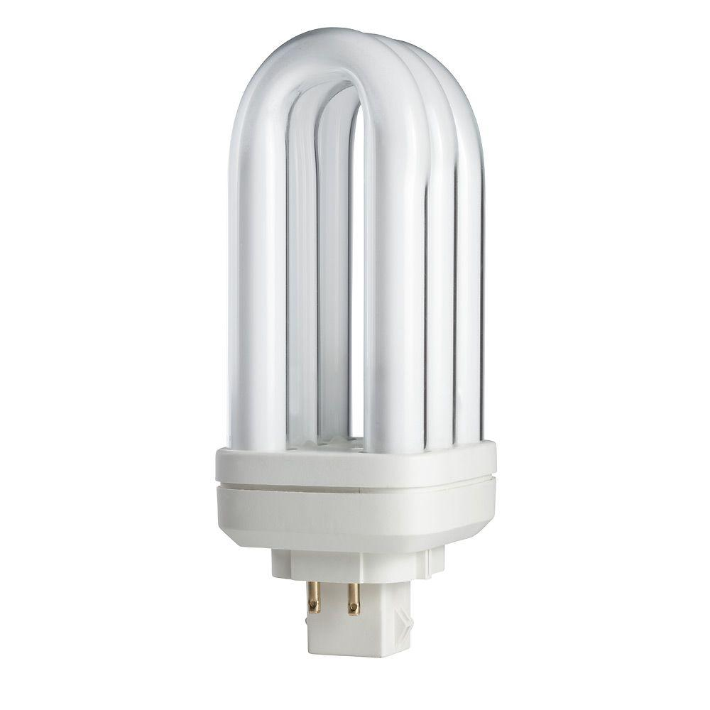 Philips 18-Watt Soft White (2700K) PL-T 4-Pin (GX24q-2) Energy Saver Compact Fluorescent (non-integrated) Light Bulb
