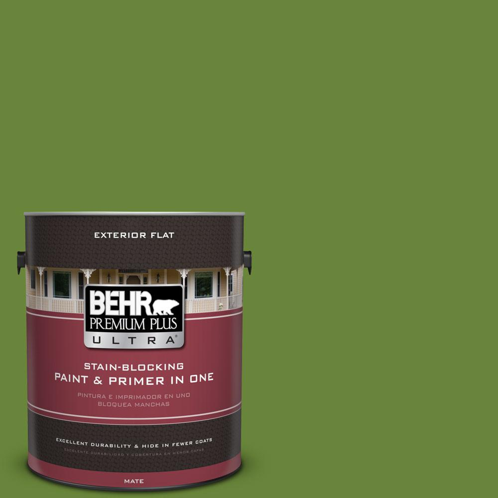 1-gal. #P370-7 Sun Valley Flat Exterior Paint