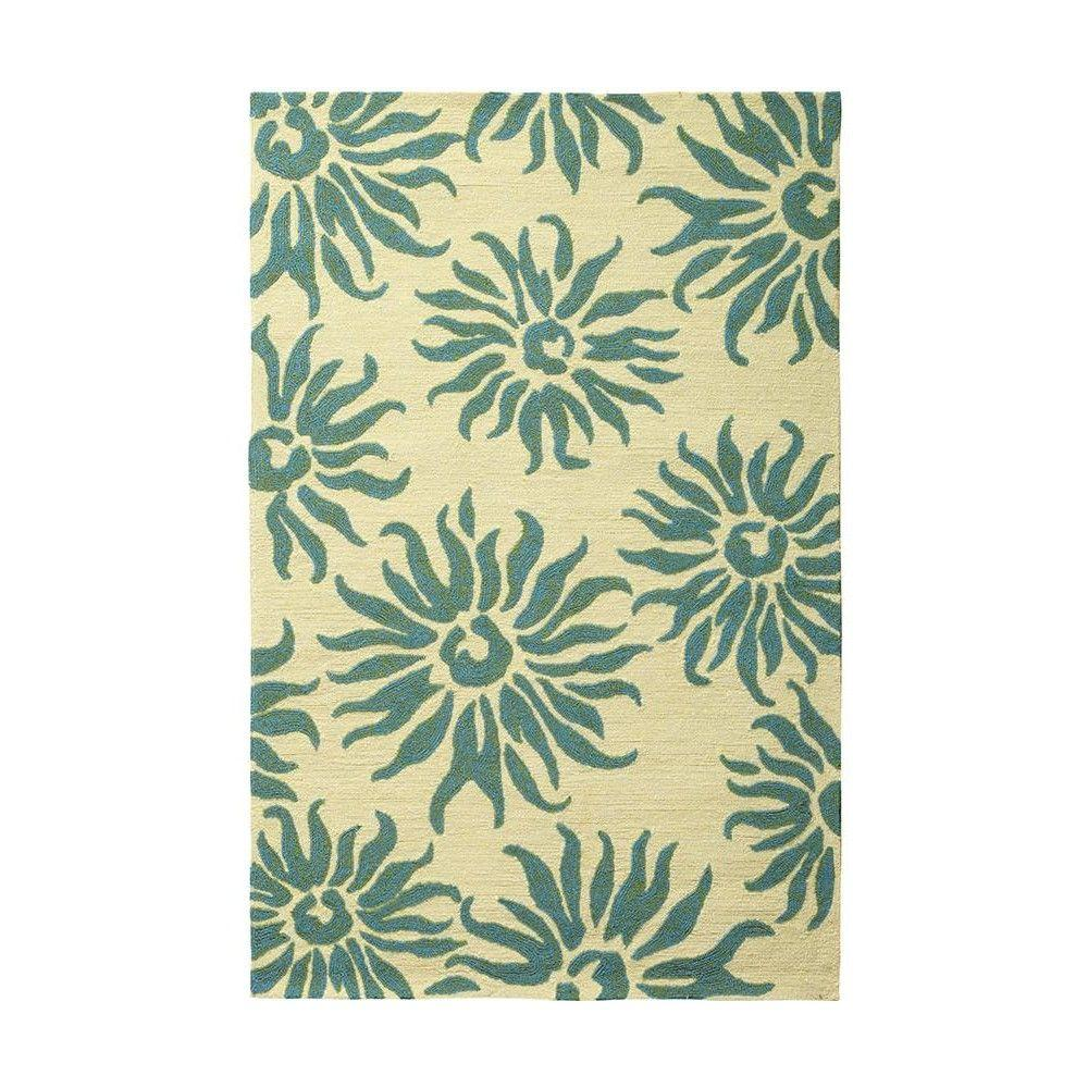 Home Decorators Collection Macy Seafoam 8 ft. x 10 ft. Area Rug