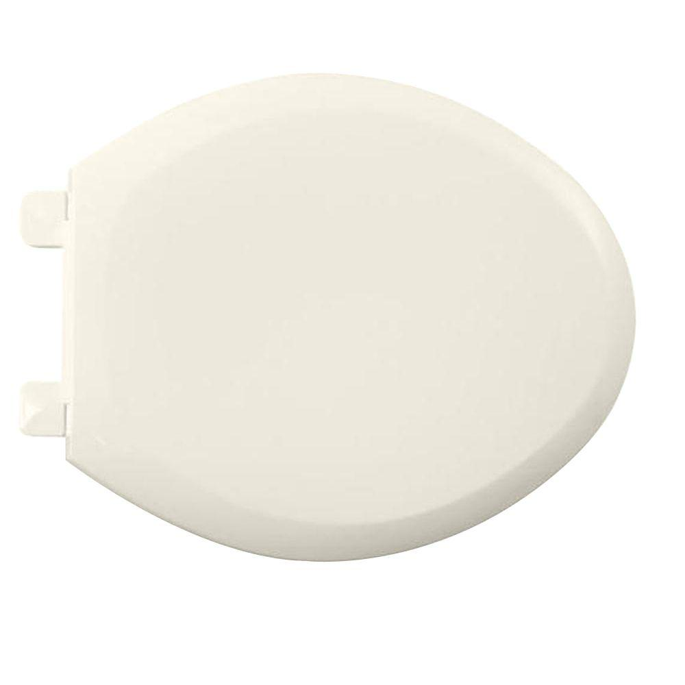 American Standard EverClean Slow Close Elongated Closed Front Toilet Seat in Linen