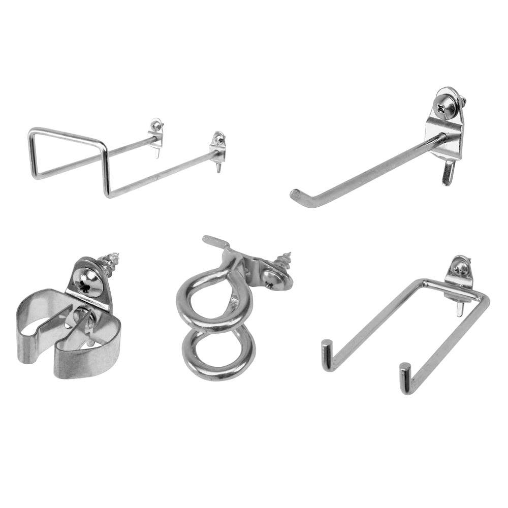 Triton Products DuraHook 64-Piece Zinc Plated Steel Hook Assortment for