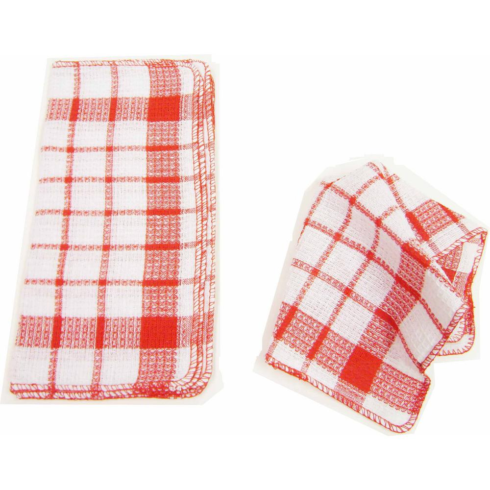 Home Basics Waffle 32-Piece Weave Dish Cloth Set-H41234A - The Home Depot