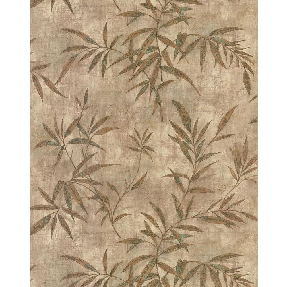 Brewster 56 sq. ft. Bamboo Wallpaper