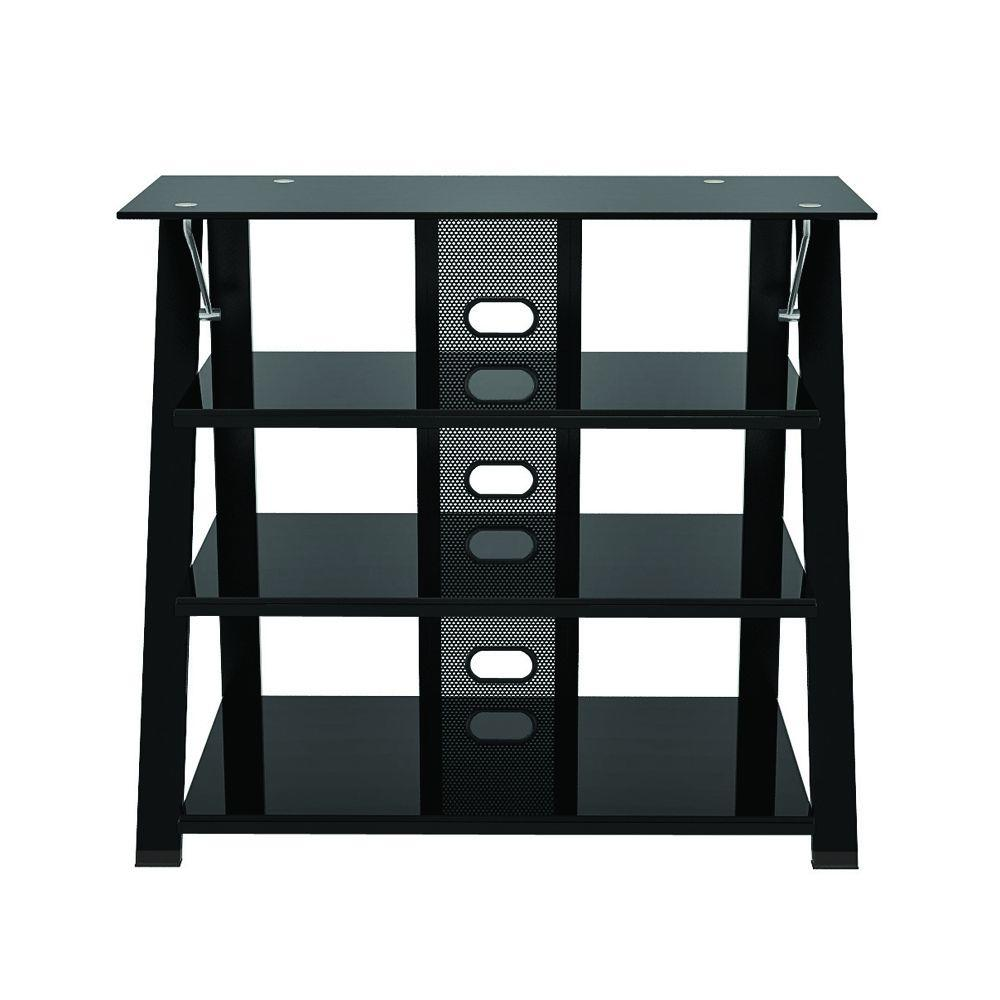 Z-Line Designs Black glossy Cruise Highboy TV Stand