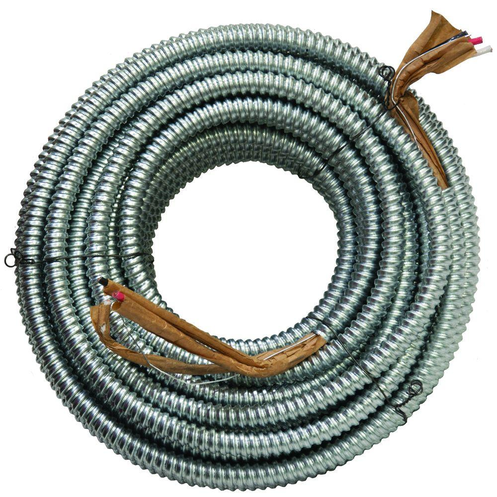 AFC Cable Systems 6/3 x 125 ft. BX/AC-90 Cable-1420-32-00 - The