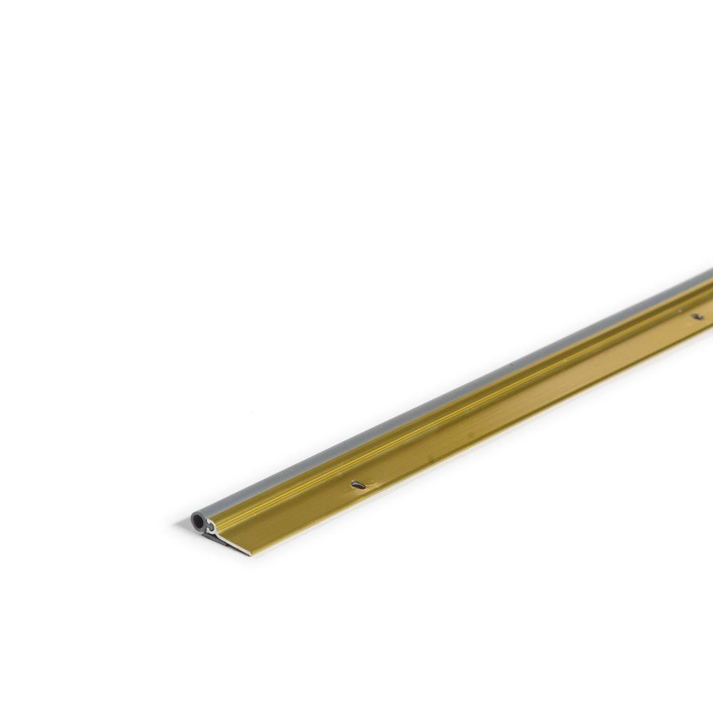 36 in. x 84 in. Flat Profile Door Jamb Brite-Dip Gold