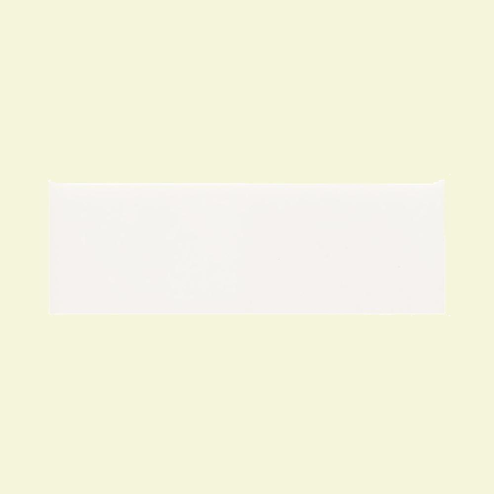 Daltile Modern Dimensions Gloss Arctic White 4-1/4 in. x 12 in. Ceramic Wall Tile (10.64 sq. ft. / case)