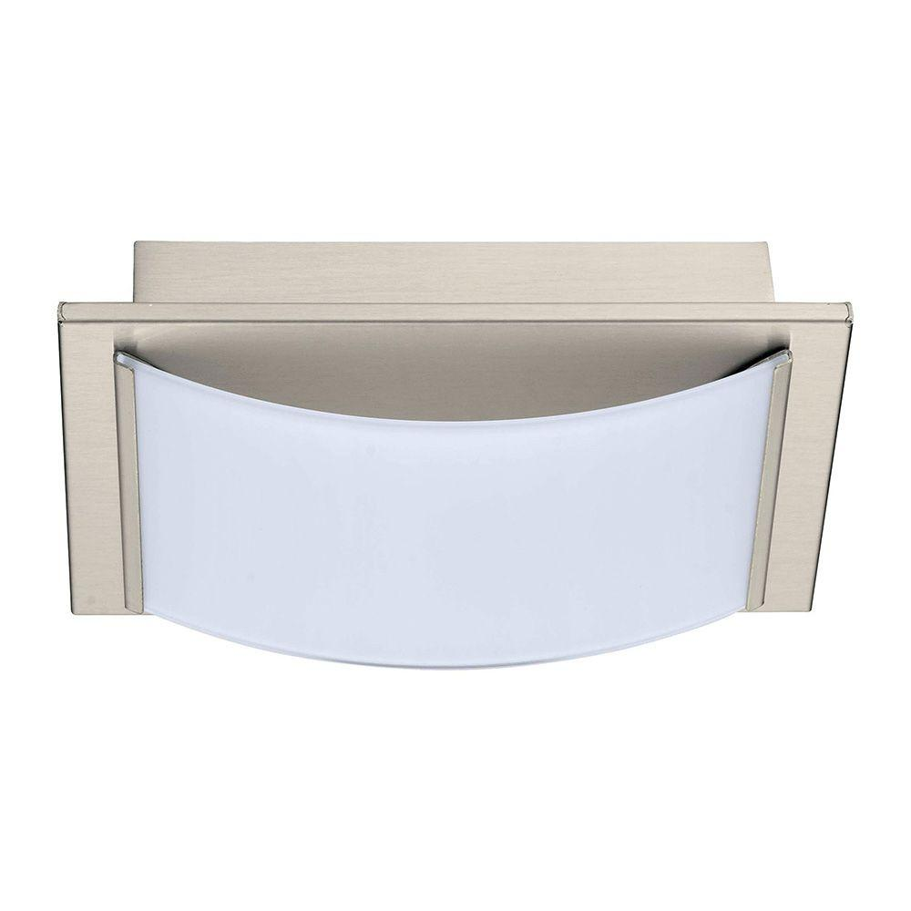 Wasao Matte Nickel LED Wall Light