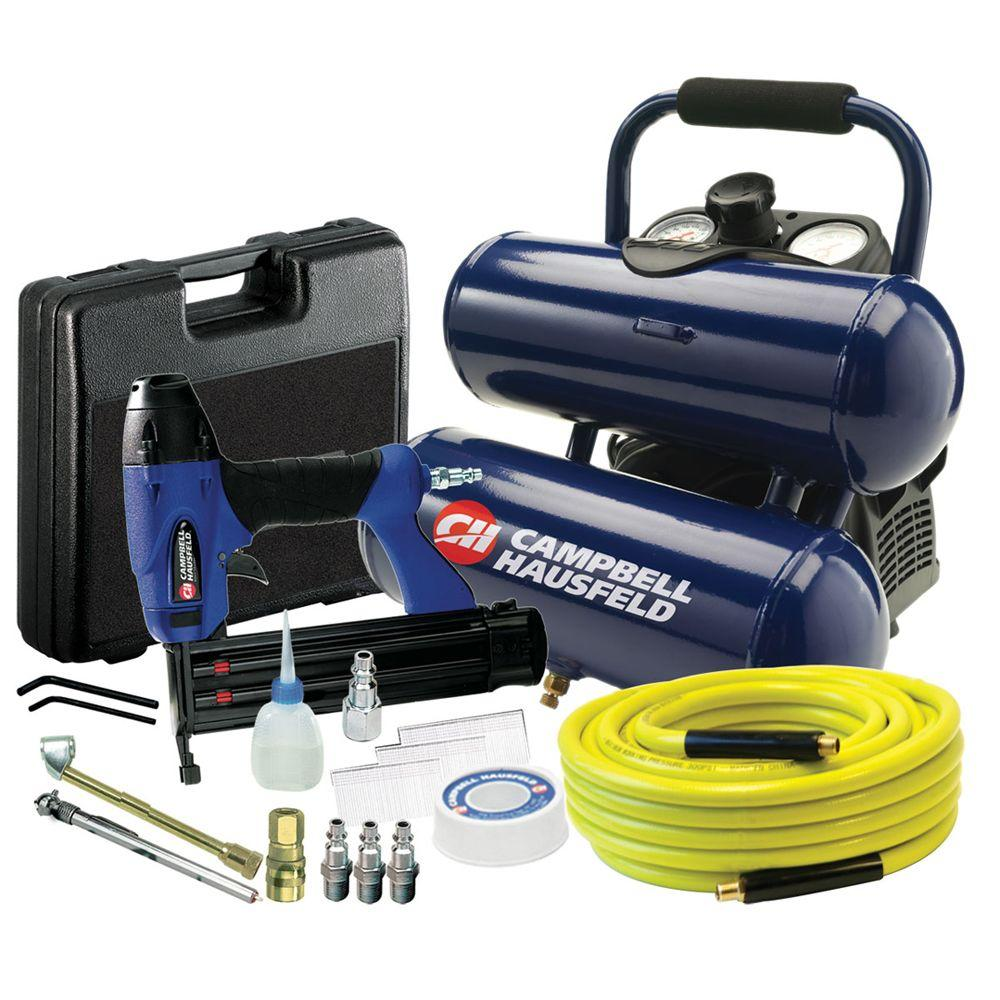 Campbell Hausfeld 2-Gal. Air Compressor with Nailer Kit-DISCONTINUED