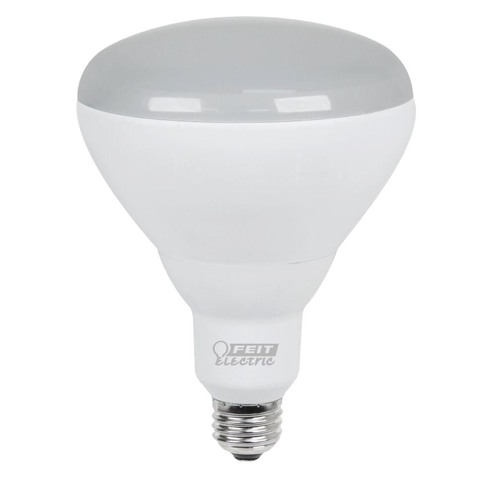 Feit Electric 75W Equivalent Soft White (2700K) BR40 Dimmable LED Light
