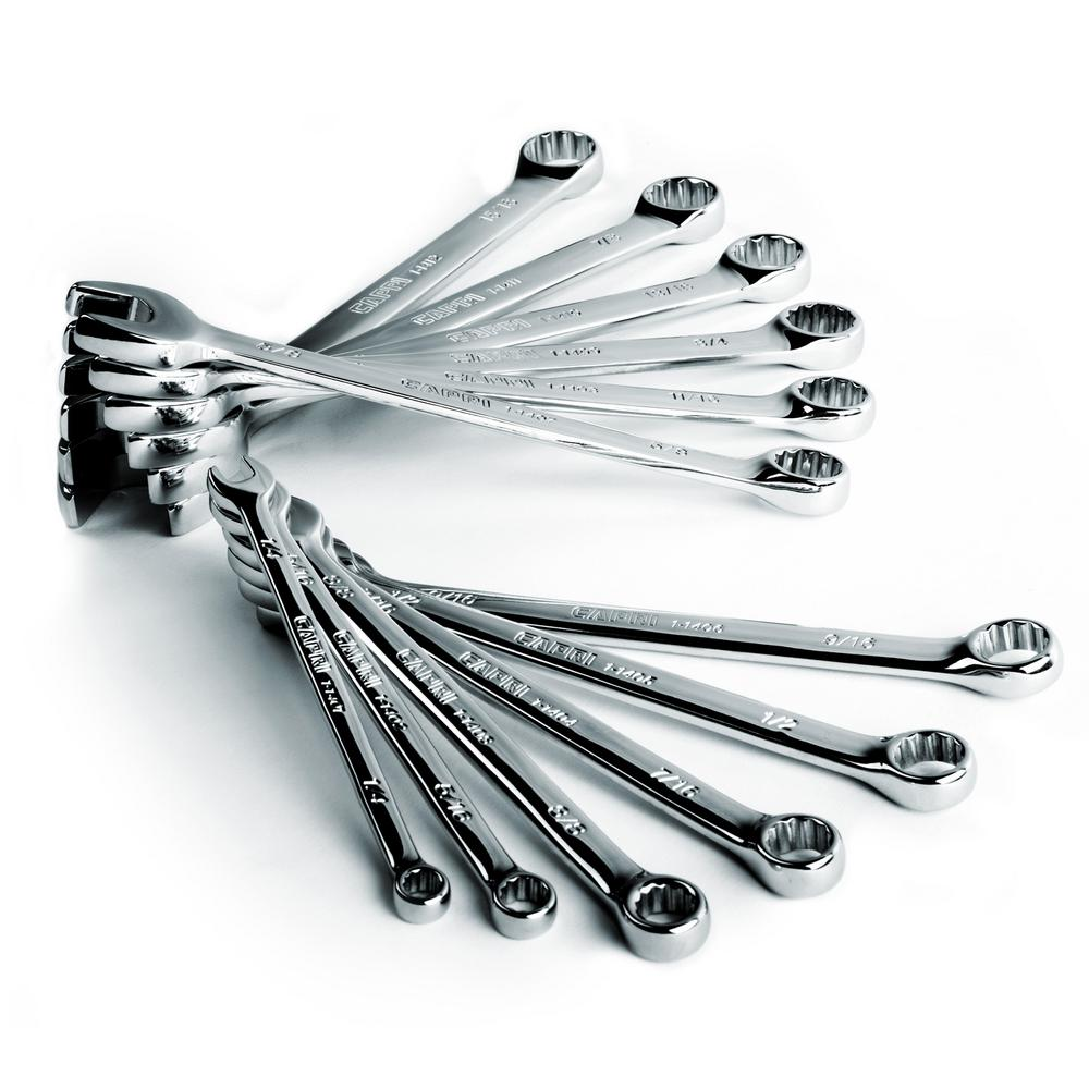 SmartKrome SAE Combination Wrench Set (12-Piece)