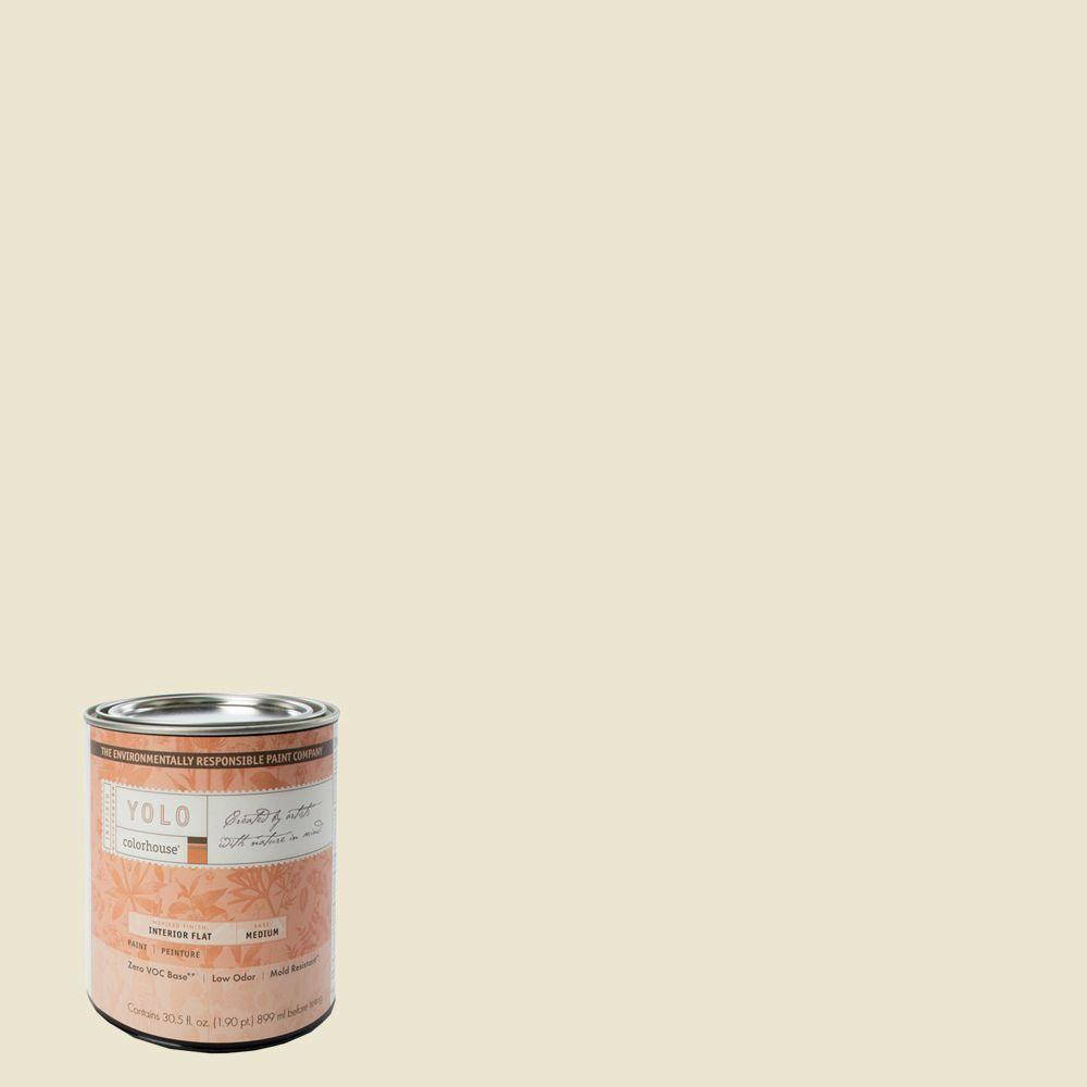 YOLO Colorhouse 1-Qt. Air .02 Flat Interior Paint-DISCONTINUED
