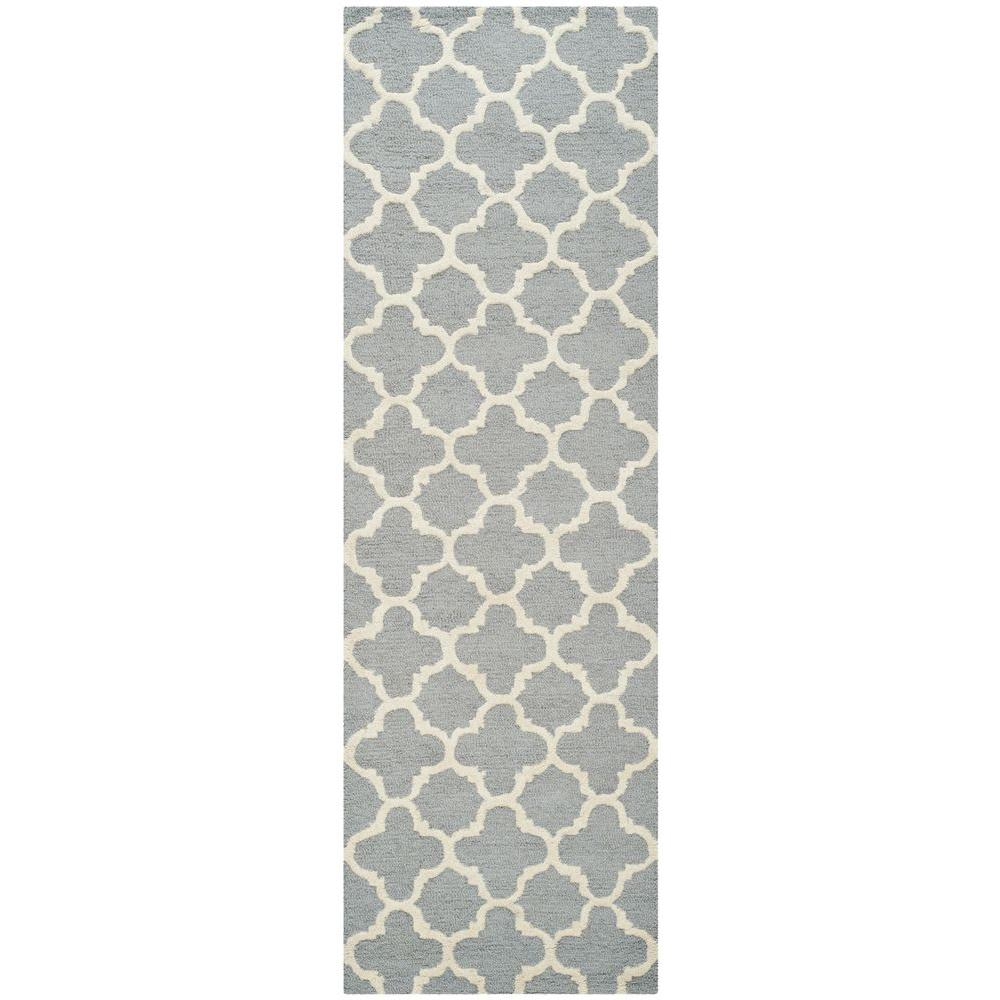 Cambridge Silver/Ivory 2 ft. 6 in. x 6 ft. Runner