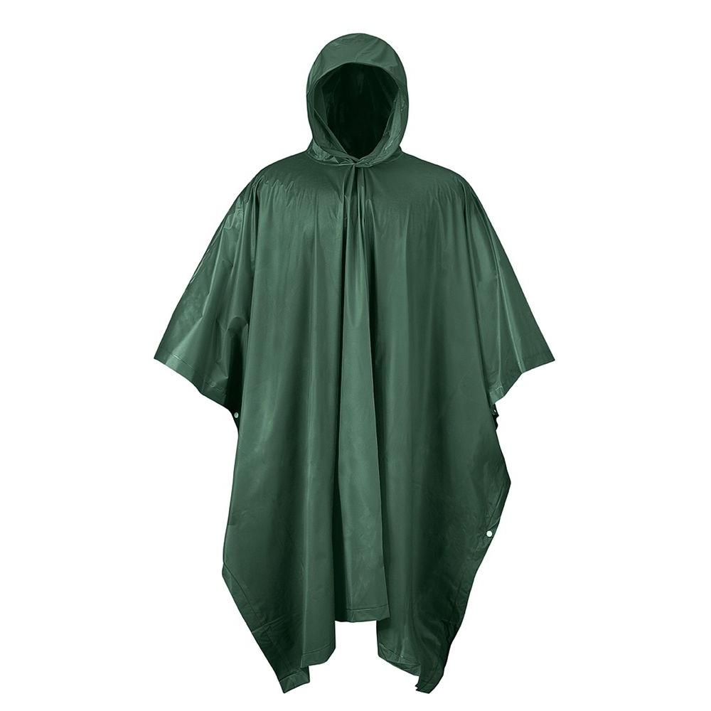 Mossi Green PVC Rain Poncho Forest-51-112FG - The Home Depot