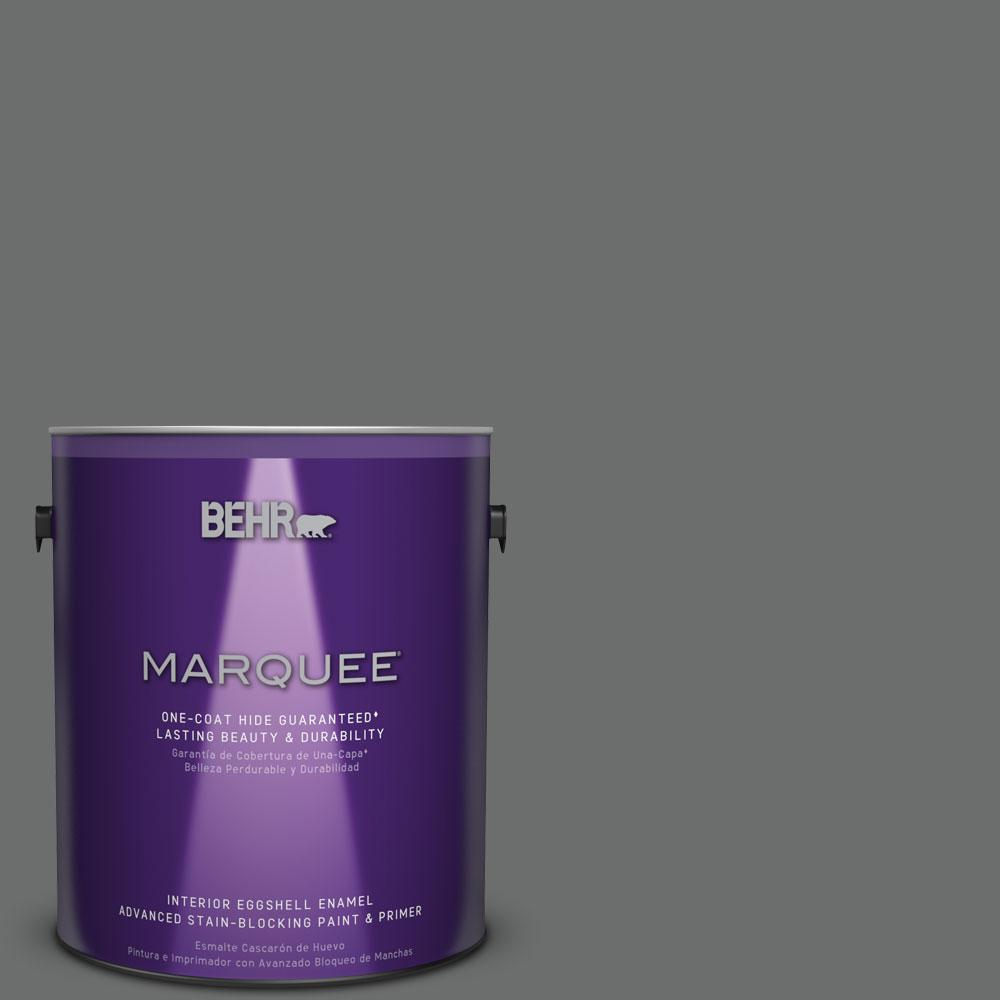 1 gal. #HDC-AC-17A Welded Iron One-Coat Hide Eggshell Enamel Interior Paint
