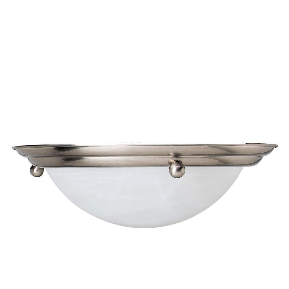 Biscayne 4-Light Oil Rubbed Bronze Flushmount Ceiling Fixture