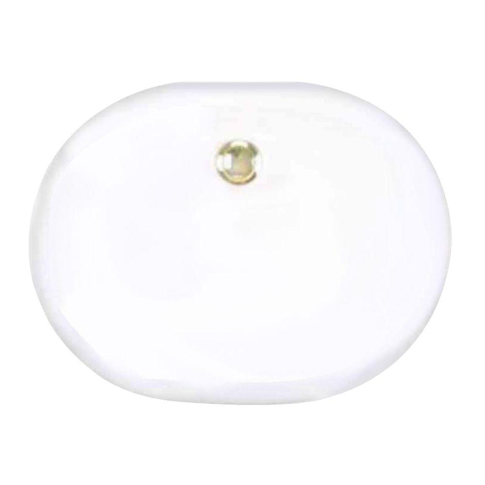 St. Thomas Creations Madrid Drop-In Bathroom Sink in White