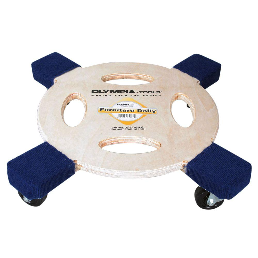 OLYMPIA 800 lb. Capacity Furniture Dolly