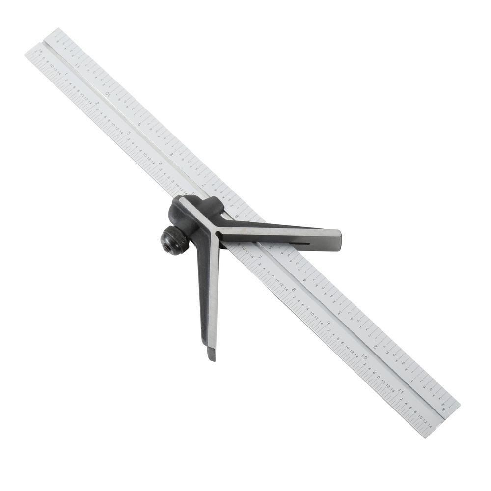 General Tools  Square Head Metal Protractor Home Depot
